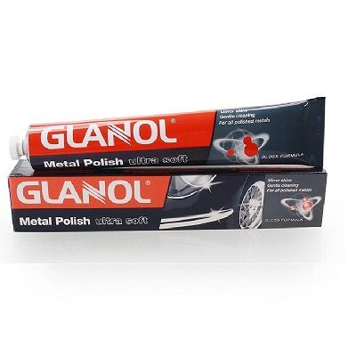 Glanol Metal Polish Ultra Soft Αλοιφή 100ml