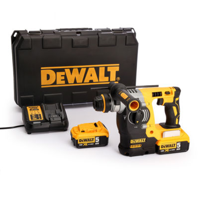 Dewalt DCH273P2 Brushless Πιστολέτο SDS-Plus 18V XR Li-Ion 2,1J (2x5,0Ah)
