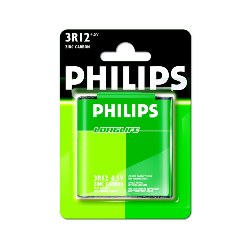 Philips 3R12 Longlife Μπαταρία 4.5V